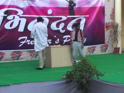 IMI drama (silent act) in imi campus indore