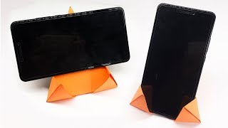Easy Origami for kids - How to make Origami Phone Stand