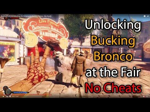 BioShock Infinite Unlocking The Fairgrounds Bucking Bronco - No Cheats