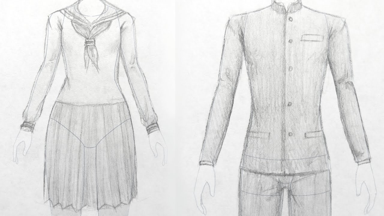 How To Draw Manga: School Uniforms (japanese Style)