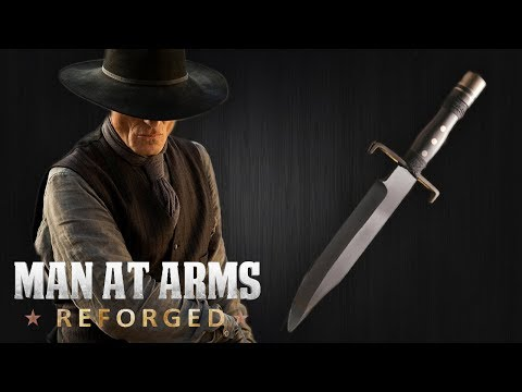 Man in Black's Bowie Knife - Westworld - MAN AT ARMS: REFORGED
