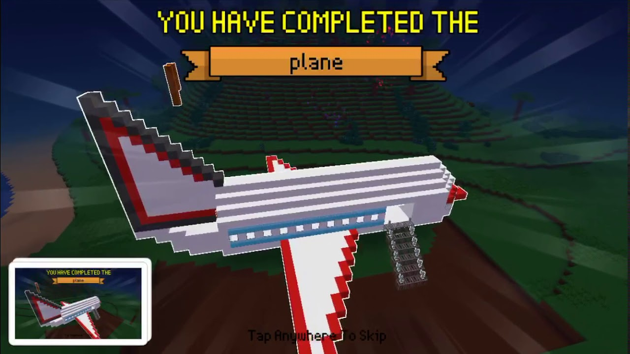 Block Craft 3D : Building Simulator Games For Free Gameplay #623 (iOS &  Android) | Plane