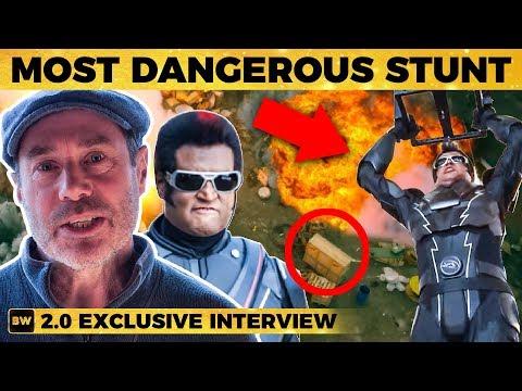 2.0: Rajinikanth's Most Dangerous Stunt - Reveals Action Director Nick Powell