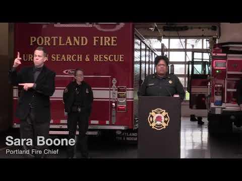 Portland City Officials Give Briefing On Coronavirus Response