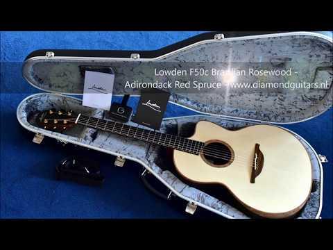 Amazing F50c Mastergrade Brazilian Rosewood - Adirondack Red Spruce