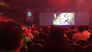 Tekken 7 Anna/Lei/Negan Reveal Trailer Evo 2018 Crowd Reaction
