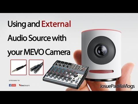 MEVO Camera - Using External Audio Source + 2 Bonus Tips