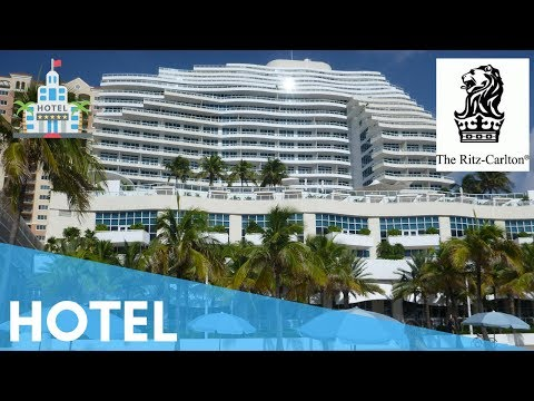 THE RITZ CARLTON HOTEL FORT LAUDERDALE ROOM TOUR OCEAN VIEW