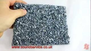 Acousticel G8 - Concrete Floor Soundproofing