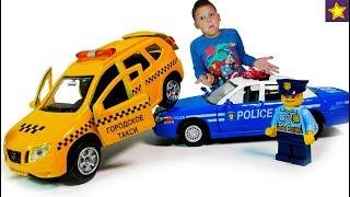 Про Машинки Такси Против Полиции Эльза Снова Нарушает Правила