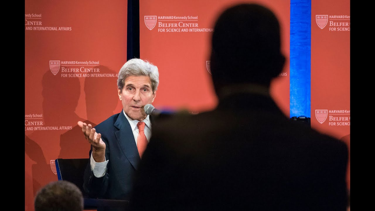 Belfer Center Conversation with Secretary of State John