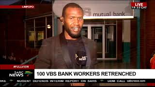 Some VBS Bank branches closed: Hitekani Magwedze