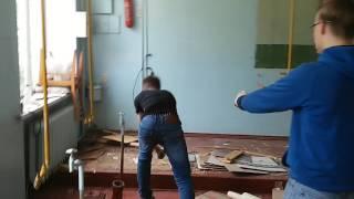 видео Циклевка паркета в Балашихе