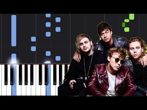 """5 Seconds Of Summer - """"If Wall Could Talk"""" Piano Tutorial - Chords - How To Play - Cover"""