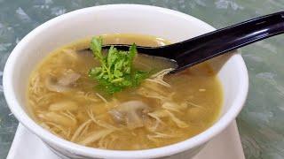 Chicken Mushroom Soup / Healthy Soup Recipe