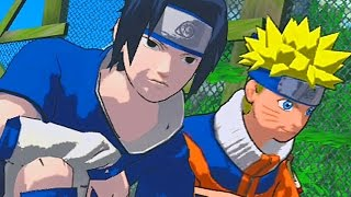 fighting genin ninjas naruto rise of a ninja   walkthrough part 10 gameplay xbox 360