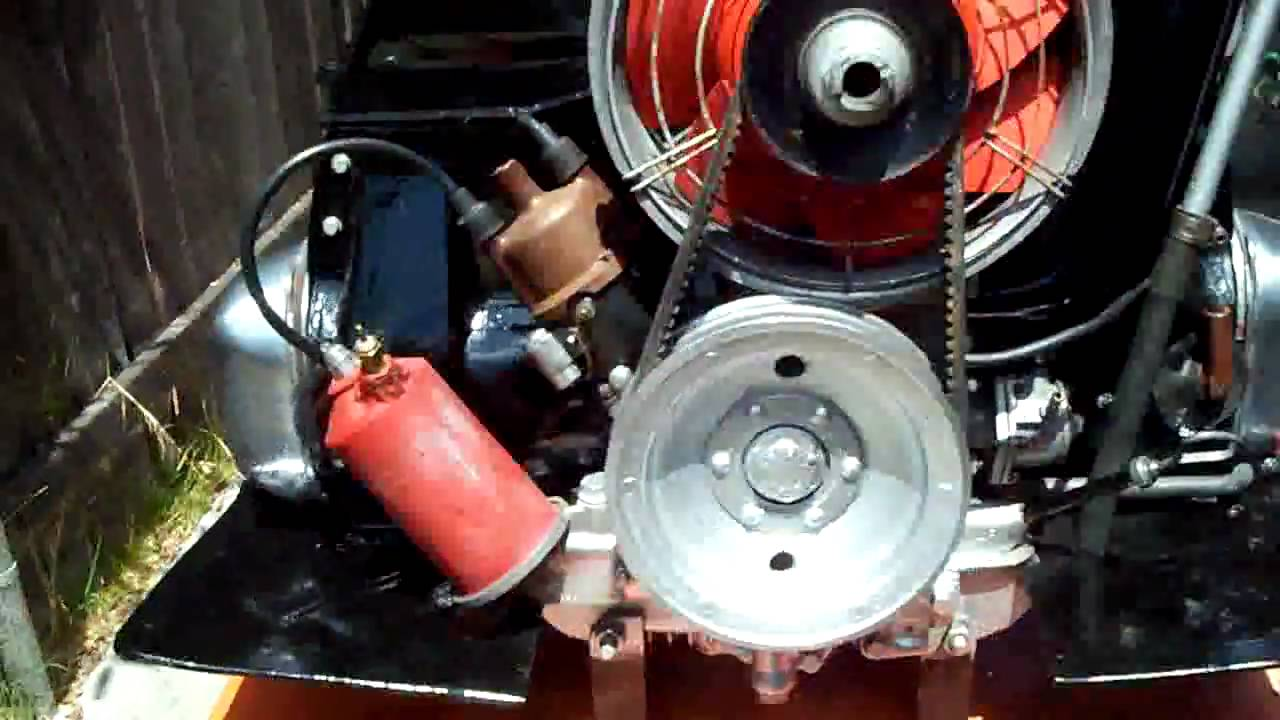 Steyr Puch 650 Engine For Fiat 500 Youtube