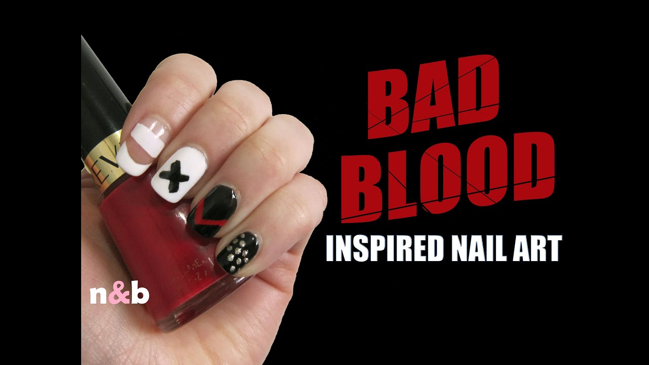 Taylor Swift Bad Blood Ft Kendrick Lamar Inspired Nail Art 5 Easy Designs No Tools Needed You