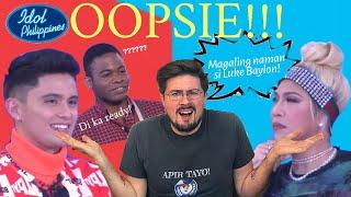 Download Luke Baylon & the Idol Philippines' BIG OOPSIE! (Tagalog) | @Puting Pinoy Mp3