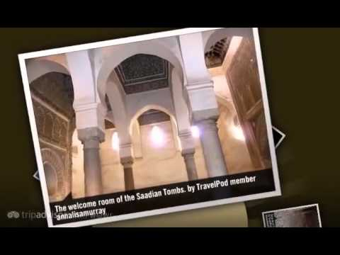 Saadian Tombs - Marrakech, Morocco