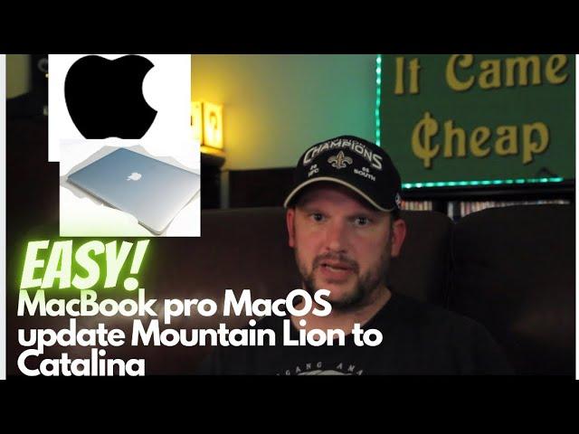 Upgrade Mountain Lion To Catalina