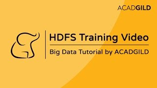 HDFS Architecture Tutorial | HDFS Tutorial For Beginners | Hadoop Training Video