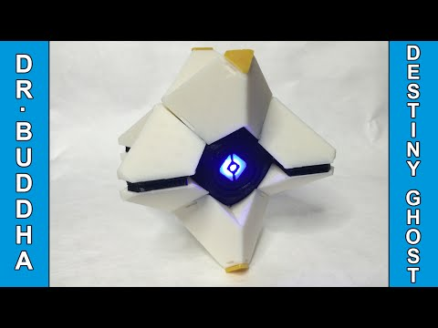 3D Printer in Action: Destiny Ghost