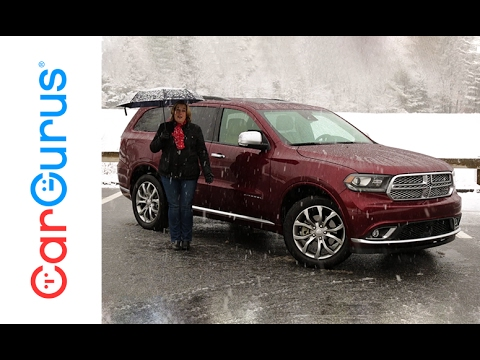 2017 Dodge Durango | CarGurus Test Drive Review