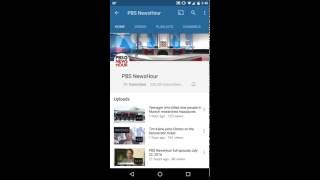 how to subscribe to a youtube channel on your mobile phone android tutorials