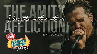 "The Amity Affliction - ""I Bring The Weather With Me"" LIVE! Vans Warped Tour 2018"