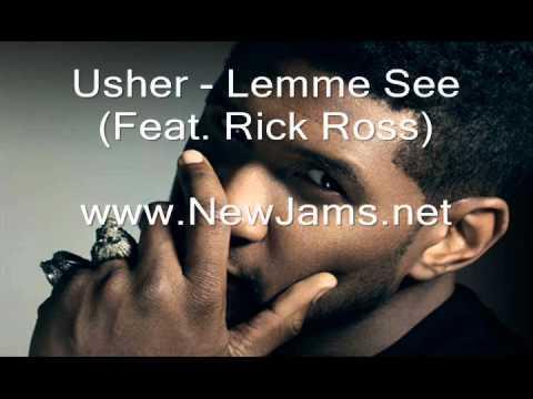 Lemme See (feat. Rick Ross) - Usher - LETRAS.MUS.BR