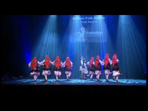 Australian Dance Festival 09 Balkan Folk Dancing