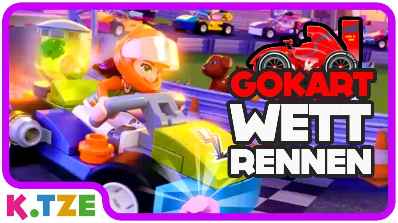 Gokart Wettrennen Lego Friends Heartlake Rush Youtube