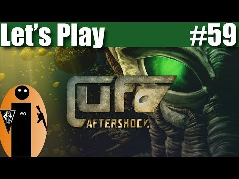 Let's Play UFO: Aftershock #59 The construction of a new Spaceship has begun