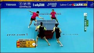 2016 kuwait open wd final ding ning liu shiwen li xiaoxia zhu yuling hd full match chinese