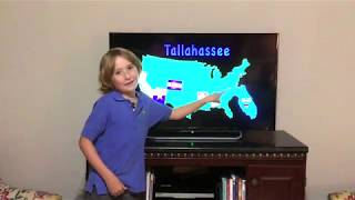 Elijah Cole Singing United States Song for Kids Learning Tube