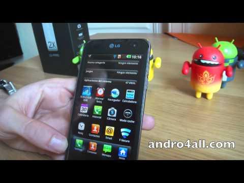 Videoreview LG Optimus 2X 1/2 [HD][ESPAÑOL]