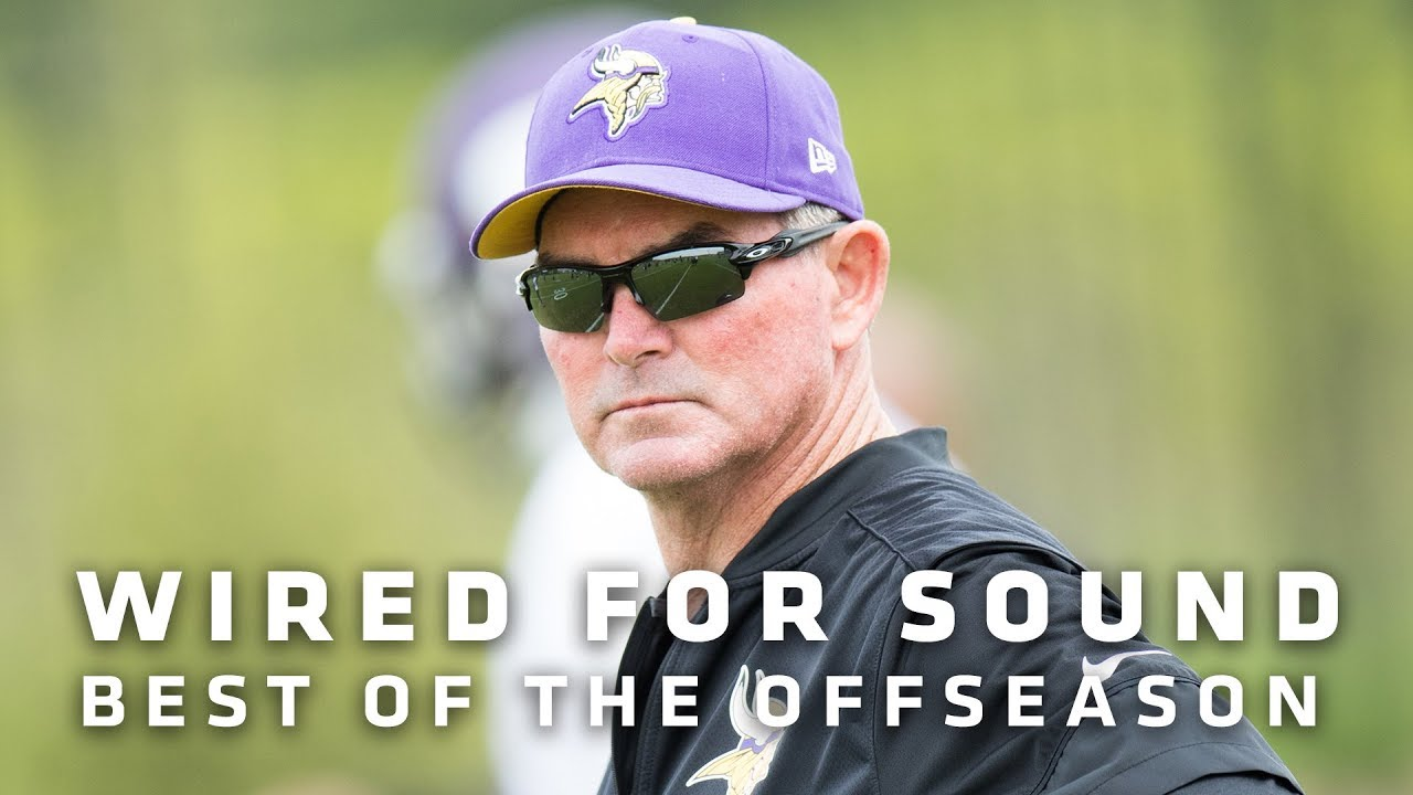 wired-for-sound-offseason-best-of-with-mike-zimmer-kirk-cousins-minnesota-vikings