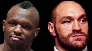 """DILLIAN WHYTE """"TYSON FURY I LAID YOU ON YOUR A** LAST TIME WE"""