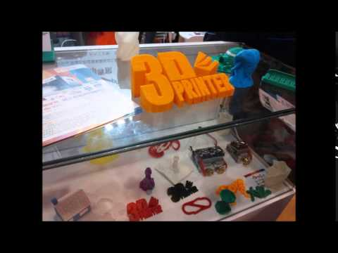 3D Printer today in HK, mostly toys industry, Autocad face model