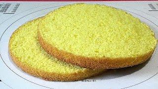 Этот рецепт сэкономит Ваши продукты а БИСКВИТ обязательно получится Sponge cake on yolks and eggs