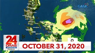 24 Oras Weekend Express: October 31, 2020 [HD]