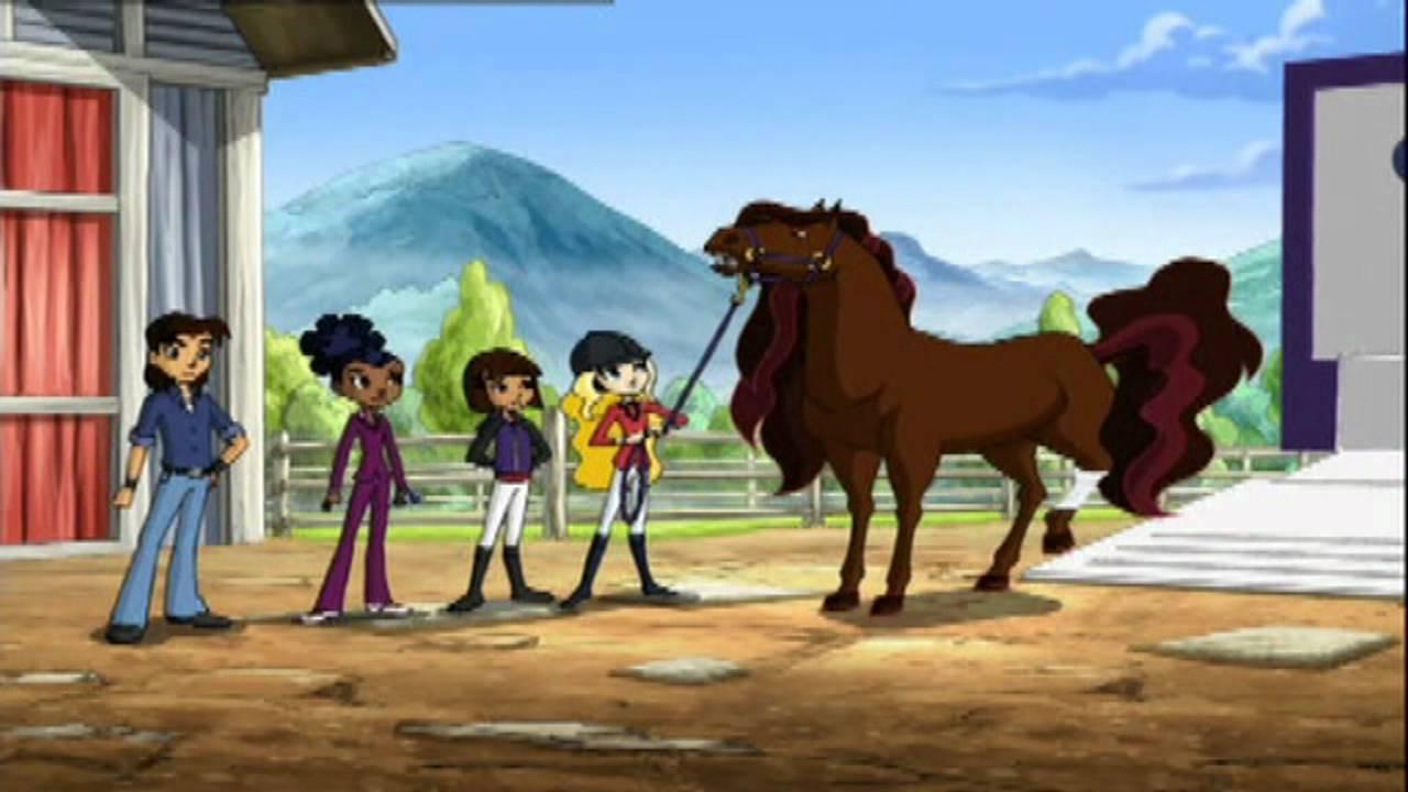 horseland 1x19 zař237k225va� kon237 12 youtube