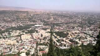 グルジア トビリシ 街を一望