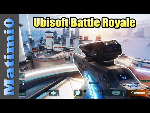 Ubisoft's New Battle Royale - Hyper Scape