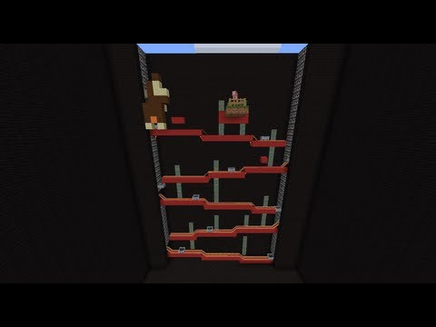 Donkey Kong in Minecraft
