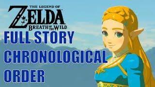 FULL STORY CHRONOLOGICAL ORDER Zelda Breath of the wild: CUTSCENES / MEMORIES / BOSS / ENDING