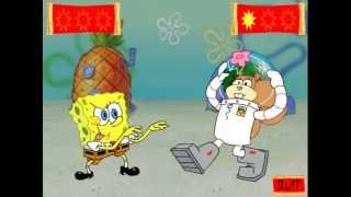 SpongeBob SquarePants | Karate Match With Sandy!