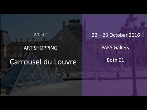 Art Shopping Carrousel du Louvre 2016 with PAKS Gallery