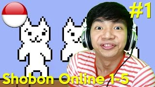 Main Cepat Syobon Online Level 1 - 5 - Ipad GamePlay